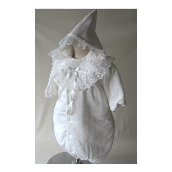 新生児用おくるみオール25-90109 50-80cmホワイトセレクション(シンクビー)