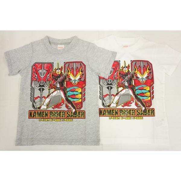 ナカタBANDAI仮面ライダーセイバー半袖Tシャツ聖刃(変身ライダー)SQ9054100cm-120cm