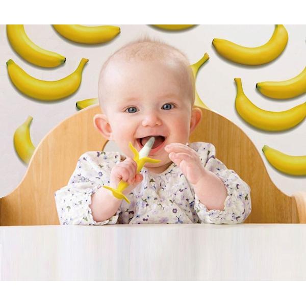 カミカミbabyバナナ エジソンセレクト エジソン EDISON カミカミBabyバナナ 3ヶ月 赤ちゃん大喜び 歯がため カミカミバナナ おしゃぶり|babywest|05