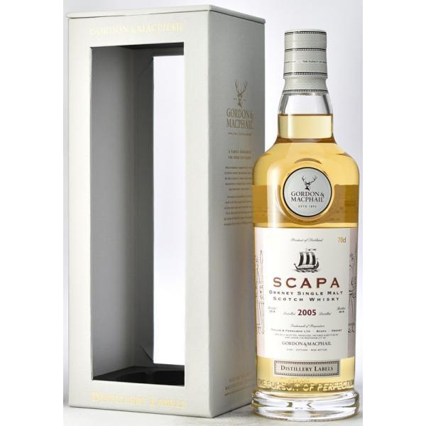 SCAPA G&M 2005-2018 スキャパ 蒸留所ラベル Newボトル|bacchus-barrel