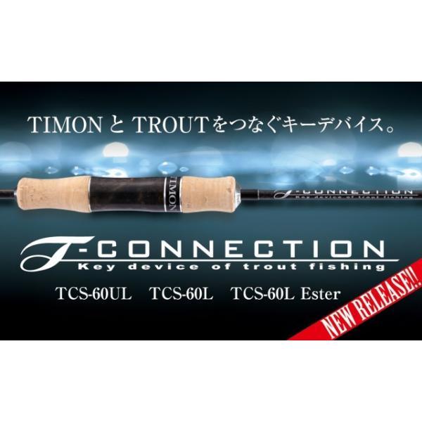 ジャッカル Tコネクション TCS-60L-Ester JACKALL T-CONNECTION