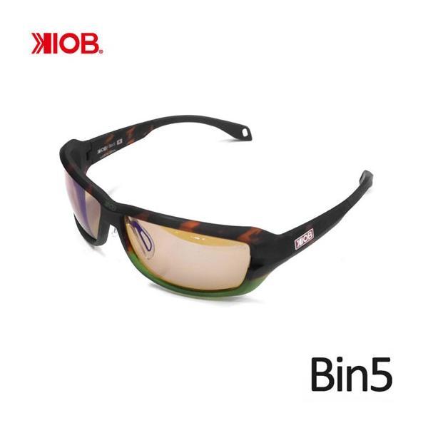 ケナイオビー ビンゴ グラスホッパーフレーム ミラーレンズ 偏光サングラス KIOB Bin5