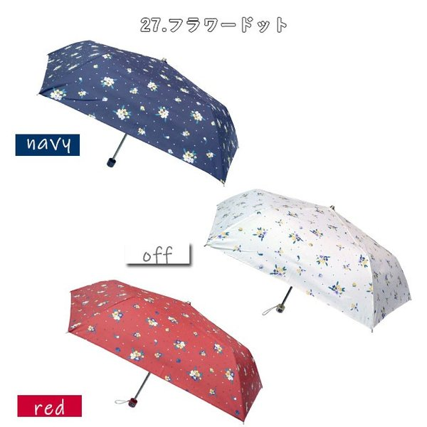 折りたたみ傘 レディース ブランド 通販 おしゃれ 軽量 UVカット 紫外線対策 花柄 フラワー 50cm 6本骨 コンパクト ミニ 小さめ 折り畳み傘 おりたたみ傘|backyard-1|20