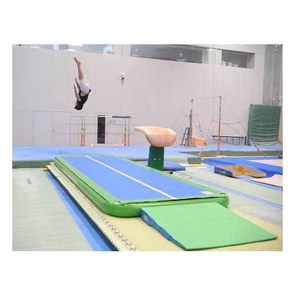 ジャンピングマット 150 エアートラック ホッピングマット 体操教室 ダンス チアリーディング アクロバット 舞台演劇 厚さ150mm 幅1.5m 長さ6m バックヤード|backyard-japan|08