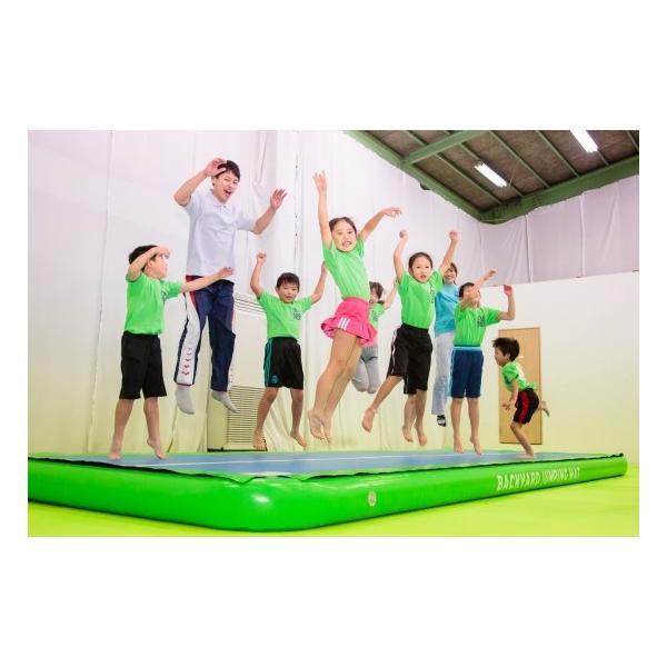 ジャンピングマット 150 エアートラック ホッピングマット 体操教室 ダンス チアリーディング アクロバット 舞台演劇 厚さ150mm 幅1.5m 長さ6m バックヤード|backyard-japan|09