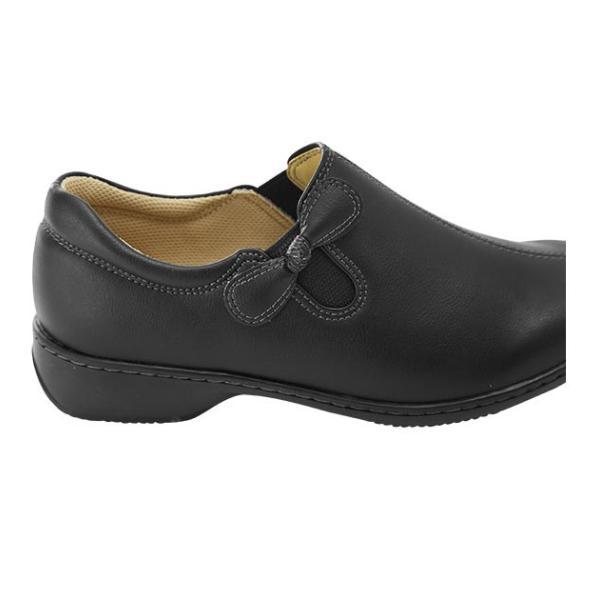 靴 レディース 歩きやすい 50代 通販 60代 軽い カジュアルシューズ 軽量 おしゃれ 3E 幅広 22cm 22.5cm 23cm 23.5cm 24cm 24.5cm 婦人靴 婦人用 ブラック