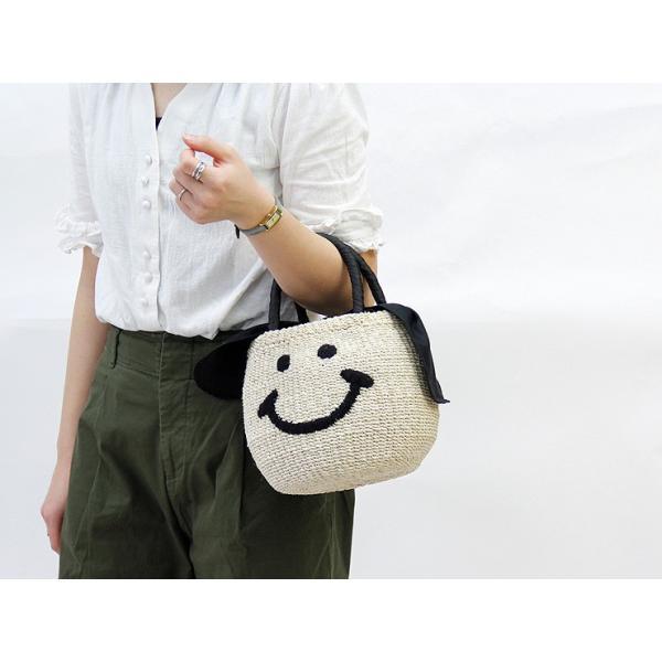 アジョリー a-jolie /かごバッグ スマイル にこちゃん レディース si-1503|bag-danjo|03