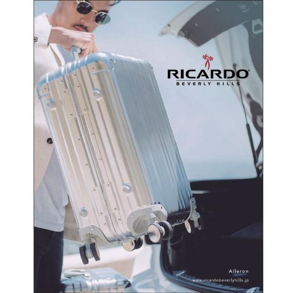 ノベルティプレゼント RICARDO リカルド Aileron エルロン スーツケース 58L TSAロック アルミボディ 出張 旅行 5〜6泊|bag-net|02