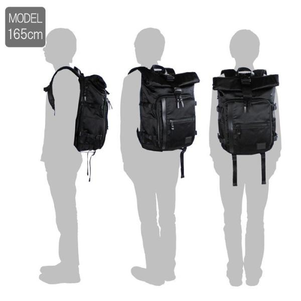 ブランド公式アイテム&ノベルティ付き MAKAVELIC マキャベリック 生産限定モデル EXCLUSIVE ROLLTOP BACKPACK バックパック 3108-10105|bag-net|11
