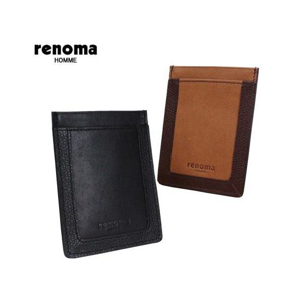 renoma エッセ パスケース 520611