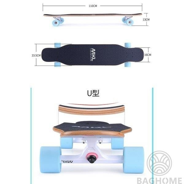ロングスケートボード 光ウィール ロングボード スケボー 全30色 コンプリート ロンスケ カラーグリップテープ 収納ケース付き ストリート パーク|baghome|13