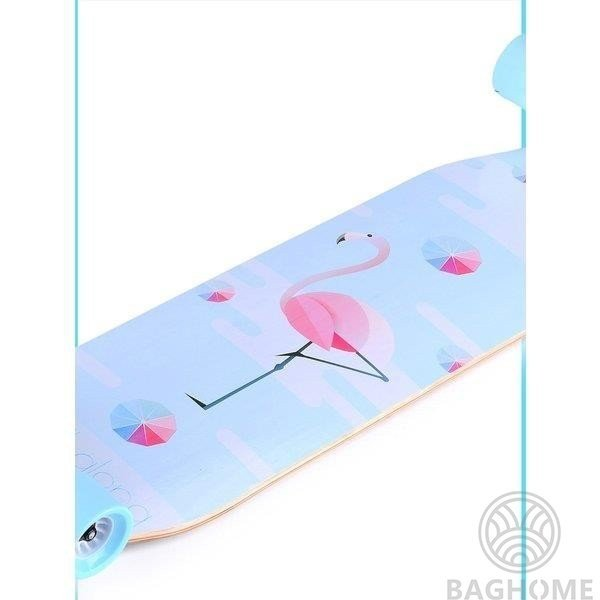 ロングスケートボード 光ウィール ロングボード スケボー 全30色 コンプリート ロンスケ カラーグリップテープ 収納ケース付き ストリート パーク|baghome|16