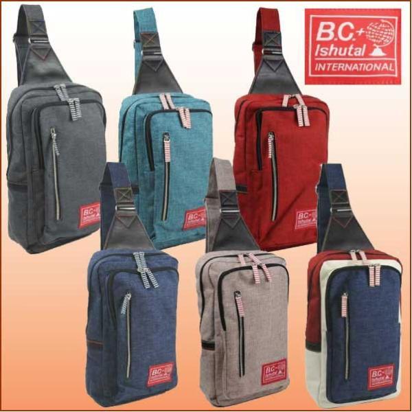 B.C.イシュタル IKT4704-ケーテン ワンショルダーパック,B.C.+ISHUTAL,デイパック,リュックサック,バックパック|bagpacks