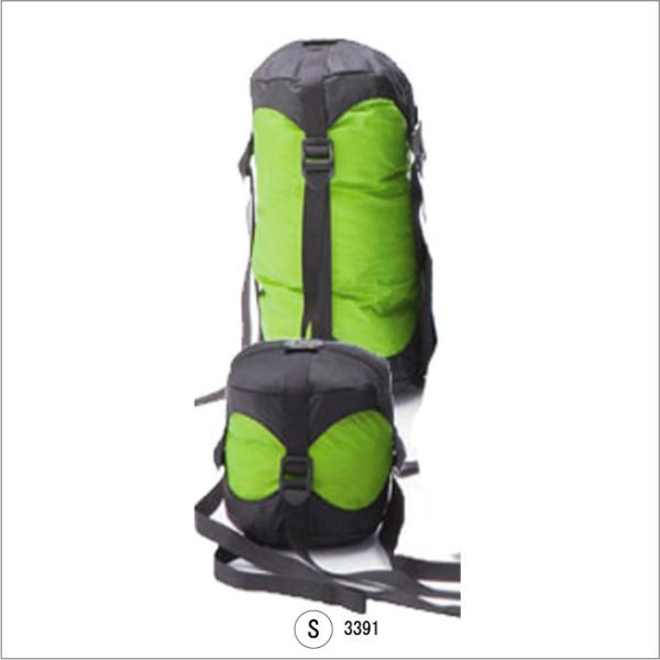 イスカ 3391-コンプレッションバッグ-S 圧縮バッグ ISUKA スタッフサック 寝袋圧縮袋