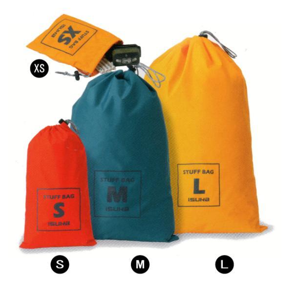 イスカ 3552-スタッフバッグ-M ISUKA スタッフサック 小物収納バッグ 防水袋 登山用品|bagpacks