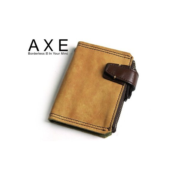 143dab5f299c5 送料無料 AXE(アックス) ウォッシュ パスケース 定期入れ 小銭入れ付 ...