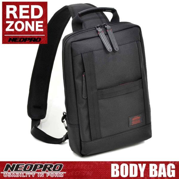 NEOPRO ネオプロ REDZONE レッドゾーン ボディバッグ ワンショルダーバッグ 斜め掛けバッグ B5 メンズ 2-023