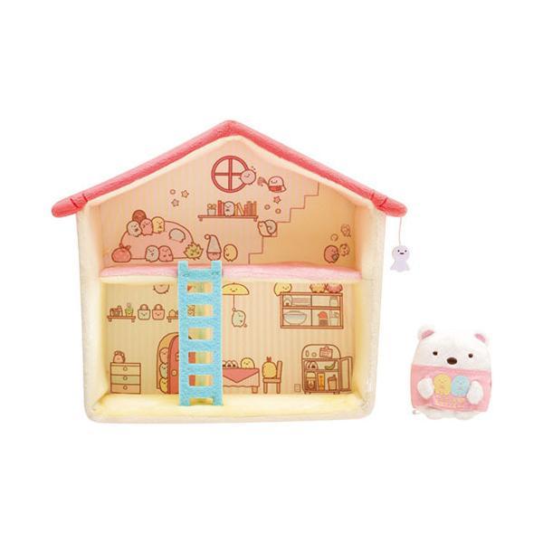 すみっコぐらし コレクション すみっコハウス 屋根ピンク・はしごブルー すみっこぐらし グッズ すみっコぐらし ぬいぐるみ