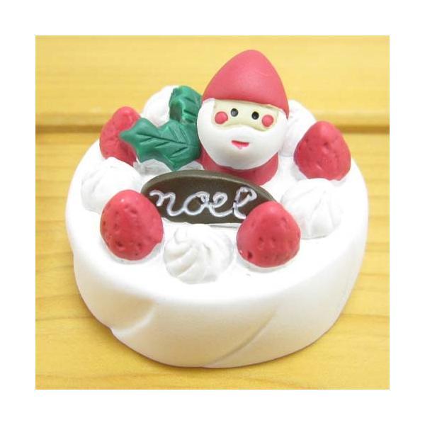 デコレ コンコンブル Holly Jolly CHRISTMAS クリスマスケーキ DECOLE concombre クリスマス雑貨 オブジェ 置物 インテリア かわいい|bague