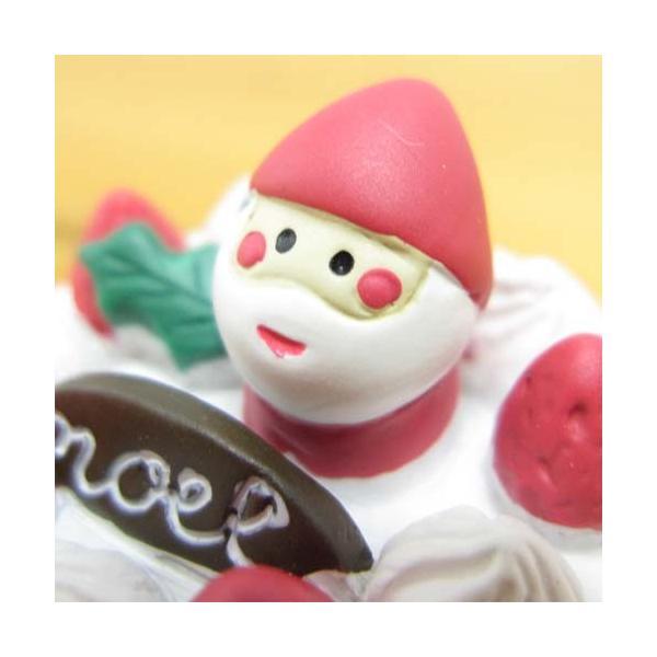 デコレ コンコンブル Holly Jolly CHRISTMAS クリスマスケーキ DECOLE concombre クリスマス雑貨 オブジェ 置物 インテリア かわいい|bague|02