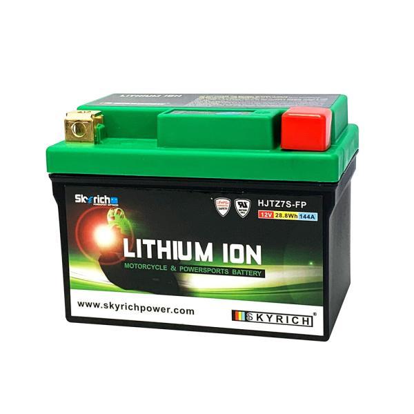 SKYRICHリチウムイオンバッテリー 互換 ユアサ YTX7L-BS GTX7L-BS YTZ7V 即使用可能|baikupatuhakase