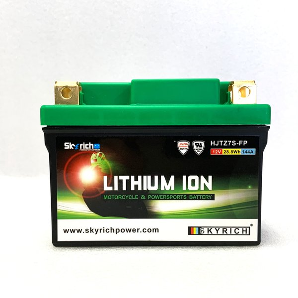 SKYRICHリチウムイオンバッテリー 互換 ユアサ YTX7L-BS GTX7L-BS YTZ7V 即使用可能|baikupatuhakase|03