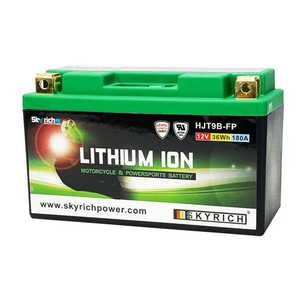 SKYRICHリチウムイオンバッテリー 互換 ユアサYT9B-BS T9B-4 FT9B-4 GT9B-4  マジェスティ YZF750R7 即使用可能 baikupatuhakase
