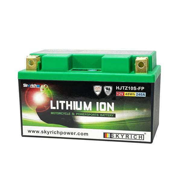 SKYRICHリチウムイオンバッテリー 互換 ユアサTTZ10S YTZ10S FTZ10S 即使用可能|baikupatuhakase|02