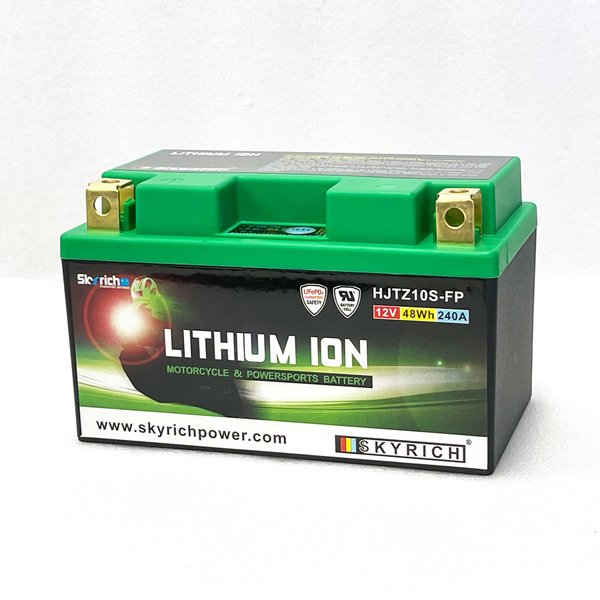 SKYRICHリチウムイオンバッテリー 互換 ユアサTTZ10S YTZ10S FTZ10S 即使用可能|baikupatuhakase|04