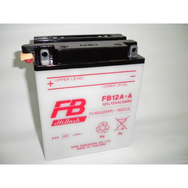 古河電池(FB) フルカワバッテリーFB12A-A 互換YUASA ユアサ YB12A-A 12N12A-4A-1 GM12AZ-4A-1 Z400FX スーパーホークCM250T CB250T CBX400F XJ400 baikupatuhakase 03