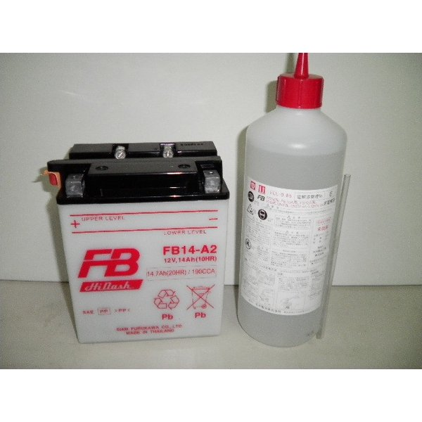古河電池(FB) フルカワバッテリーFB14-A2 互換ユアサYB14-A2 CB750 RC42 CBX750F RC17 XLV750R RD01 ナイトホーク RC39 VF750F RC15  アフリカツイン 750 RD04|baikupatuhakase|03