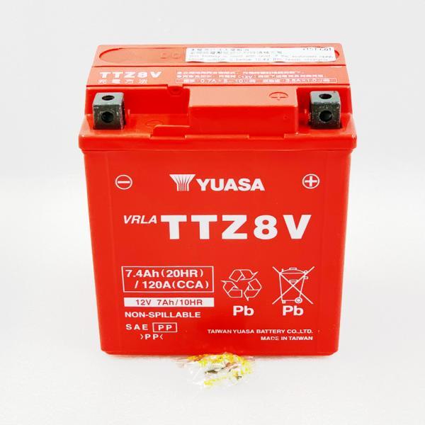 台湾ユアサ YUASA TTZ8V バイクバッテリー充電済 【互換 GTZ8V YTZ8V YTX7L-BS】 即使用可能 PCX リード125 YZF-R25 YZF-R3A MT250|baikupatuhakase|04