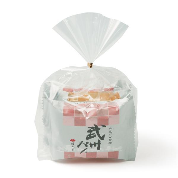 梅林堂 武州パイ 3個入(お菓子 和菓子 洋菓子 焼き菓子 スイーツ お取り寄せ 濃厚 フレッシュバター)