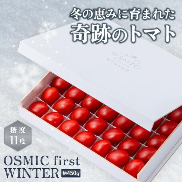 トマトグランプリ総合優勝 オスミックトマト OSMIC first WINTER 約450g  糖度11 国産 フルーツトマト 最高品質