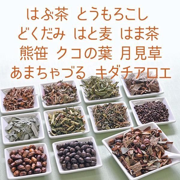 神郷源茶☆野草を10種調合した深みのある健康茶 バク盛り 400g【メール便送料無料・代引き不可】|bakuchanhonpo|03