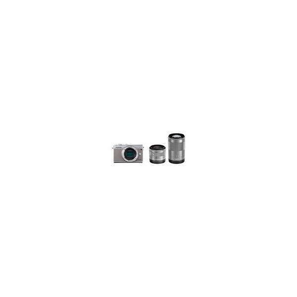 キヤノン EOS M100 ダブルズームキット グレーの画像