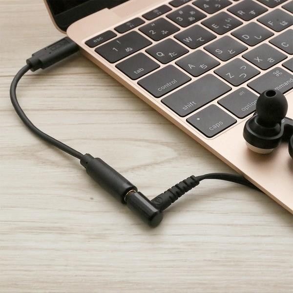 USB Type-C-イヤホン変換アダプタ DAC内蔵 ブラック SAD-CE04/BK
