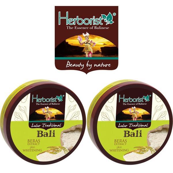 Herborist ハーボリスト インドネシアバリ島の伝統的なボディスクラブ Lulur Tradisional Bali ルルールトラディショナルバリ 100g 選べる2個セット|balifesta|05