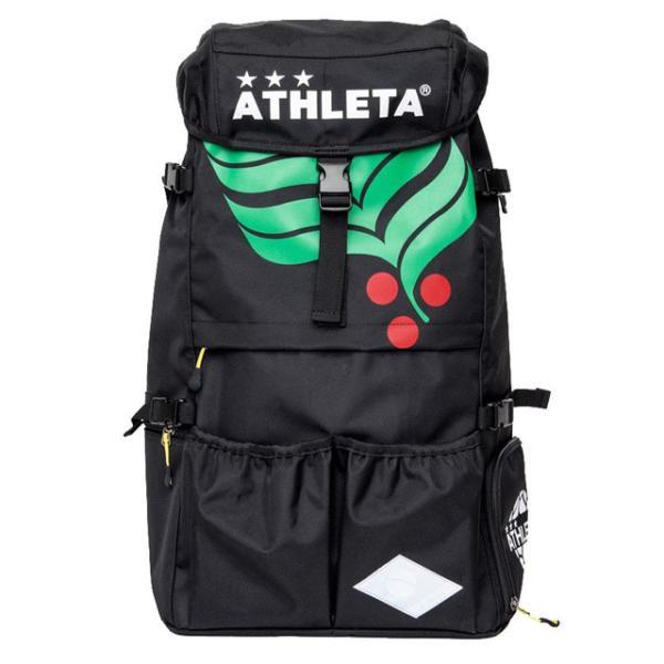 アスレタ サッカー フットサル リュック バックパック カフェブラバックパック L ブラック かばん バッグ 大容量 (ATHLETA2021SS) 05253L-70