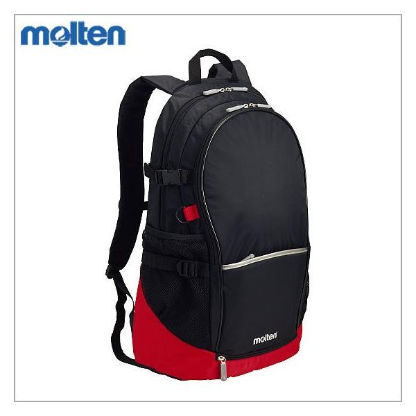 モルテン サッカー スポーツバッグ リュック バックパック 黒×赤  LA0013KR