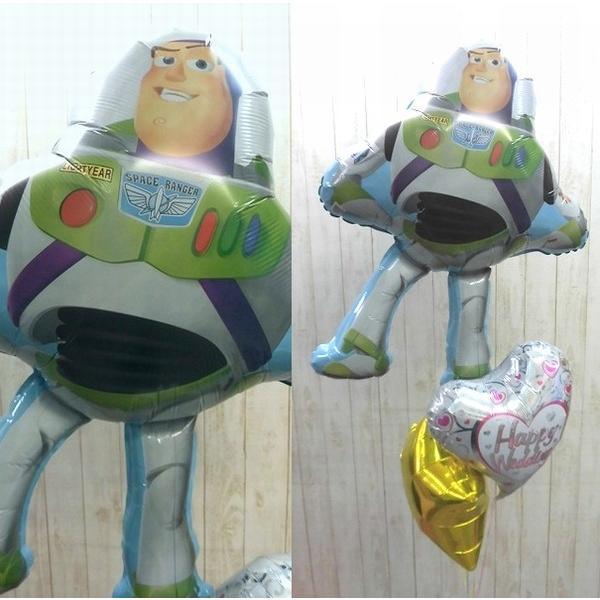 バルーン 誕生日 ディズニー バズライトイヤーバルーン 電報 結婚式 合格祝い 卒園祝い 卒業祝い ピクサー pixar トイストーリー