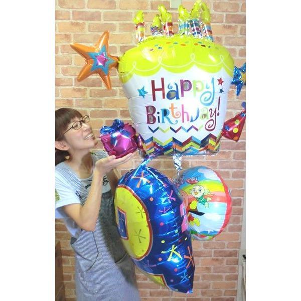 バルーン 誕生日 アンパンマン ハッピーバースデーバルーン プリキュア ガラピコぷ〜 人気 1歳 2歳 3歳 4歳  誕生日プレゼント 1才 2才 3才 男 女 おもちゃ|balloon-shop|02