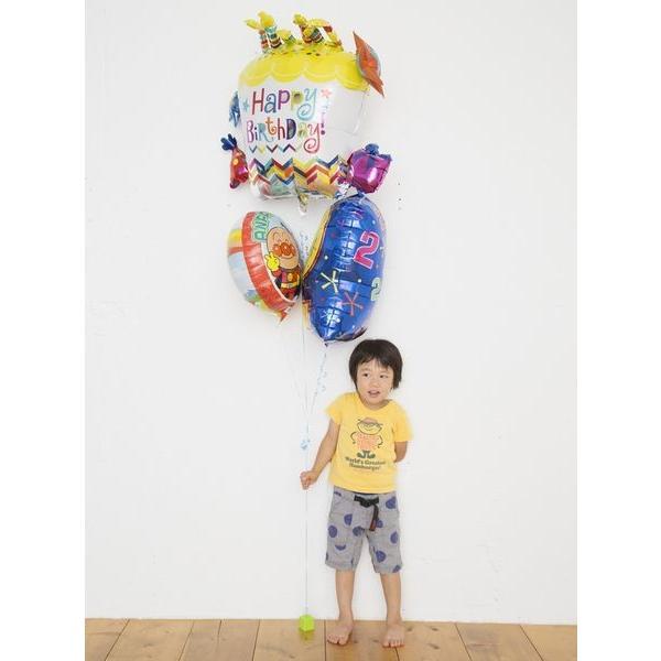 バルーン 誕生日 アンパンマン ハッピーバースデーバルーン プリキュア ガラピコぷ〜 人気 1歳 2歳 3歳 4歳  誕生日プレゼント 1才 2才 3才 男 女 おもちゃ|balloon-shop|04