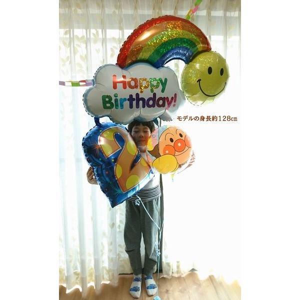 バルーン 誕生日 アンパンマン ハッピーバースデーバルーン プリキュア ガラピコぷ〜 人気 1歳 2歳 3歳 4歳  誕生日プレゼント 1才 2才 3才 男 女 おもちゃ|balloon-shop|05