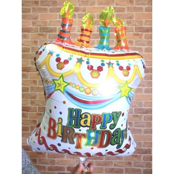 バルーンバースデーケーキ バルーン 誕生日 安い 早い バルーン 送料無料 飾りつけ おしゃれ 可愛い プレゼント|balloon-shop|03