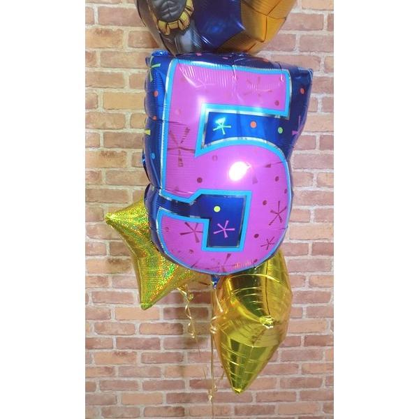 周年祝い バルーン バットマンバルーン電報 誕生日 サプライズ お祝い 男の子 周年 ヘリウムガス缶付き【佐川急便】 balloon-shop 04