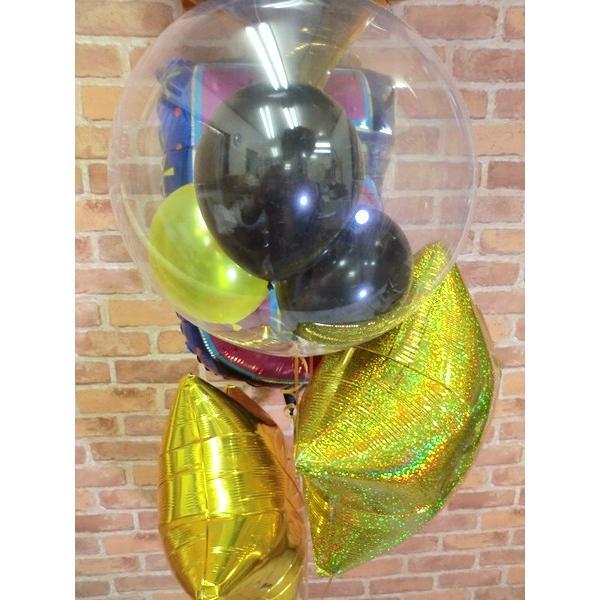 周年祝い バルーン バットマンバルーン電報 誕生日 サプライズ お祝い 男の子 周年 ヘリウムガス缶付き【佐川急便】 balloon-shop 05