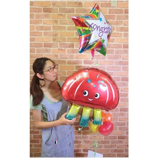 ジェリーフィッシュバルーン クラゲ 水母 開店祝い 結婚式 電報 お祝い 誕生日 敬老の日 プレゼント くらげ balloon-shop 03