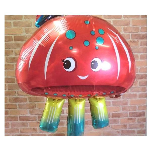 ジェリーフィッシュバルーン クラゲ 水母 開店祝い 結婚式 電報 お祝い 誕生日 敬老の日 プレゼント くらげ balloon-shop 04