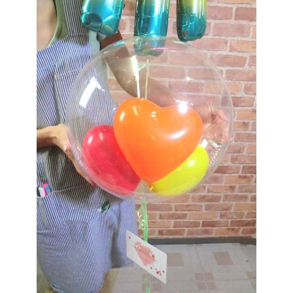 ジェリーフィッシュバルーン クラゲ 水母 開店祝い 結婚式 電報 お祝い 誕生日 敬老の日 プレゼント くらげ balloon-shop 05
